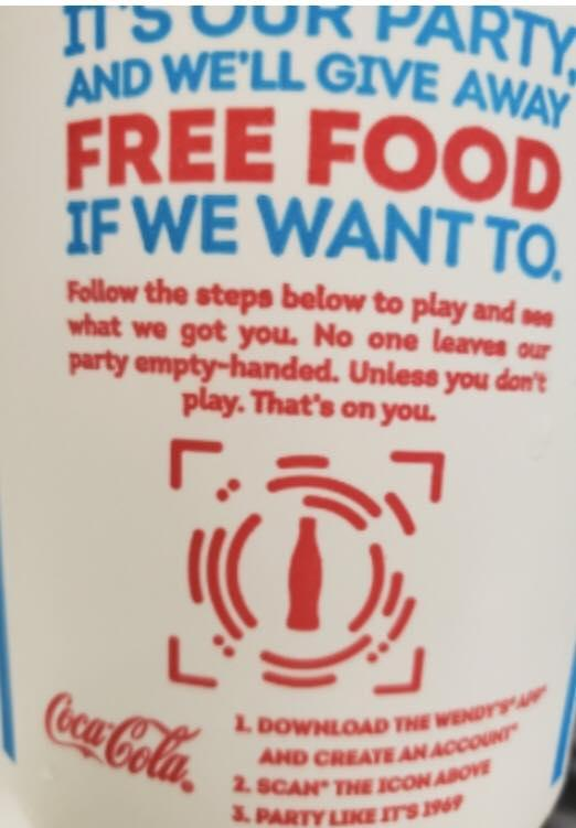 Win Free Food at Wendy's