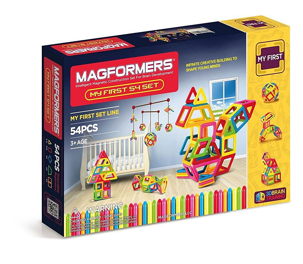 Magformers My First 54 Piece Magnetic Construction Set