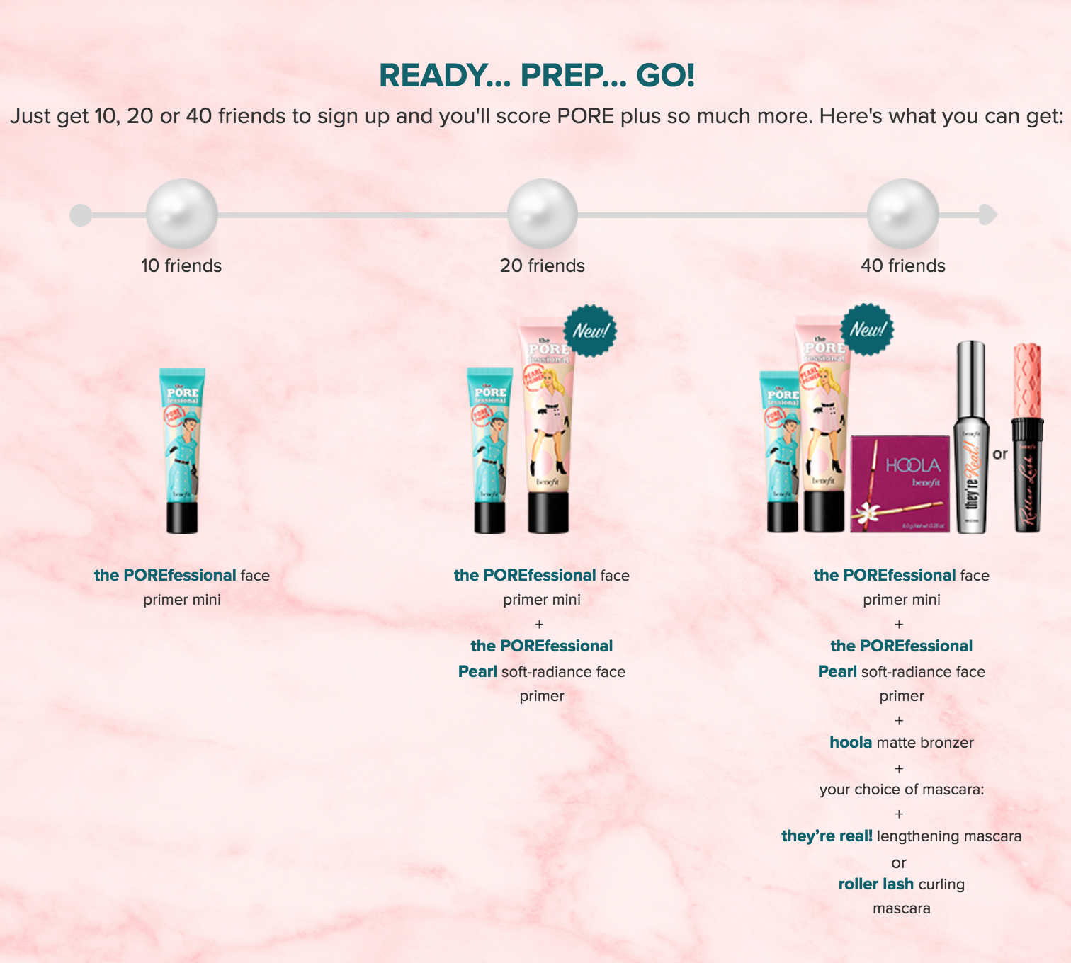 FREE Benefit Brow Products