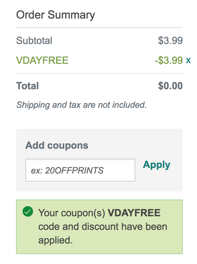 FREE 8x10 Photo Print from Walgreens Photo