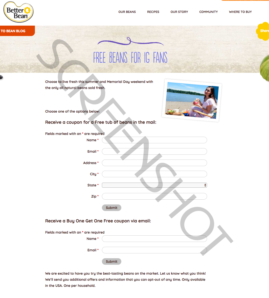 FREE Offer Request Form