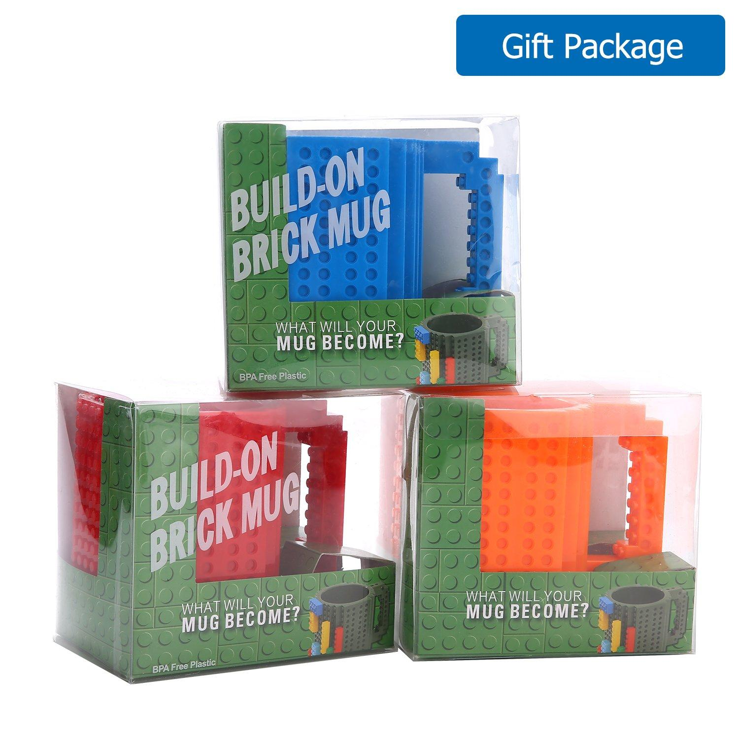 Build-On Brick Mug Cup $4.94