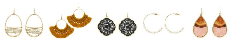2 Pairs of Earrings ONLY $14 Shipped