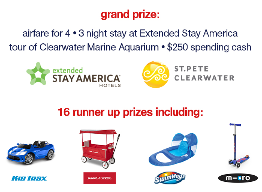 Extended Stay America's Back to School Giveaway