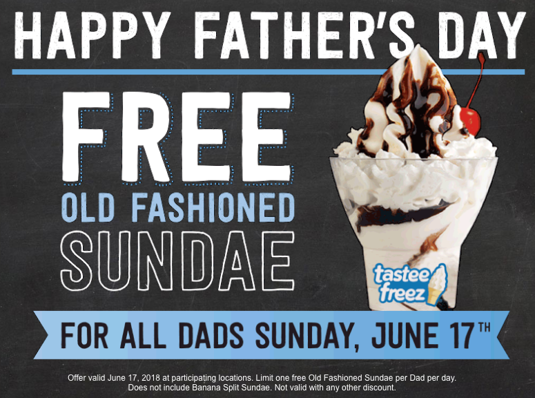 FREE Old Fashioned Sundae for Dads at Wienerschnitzel on June 17th