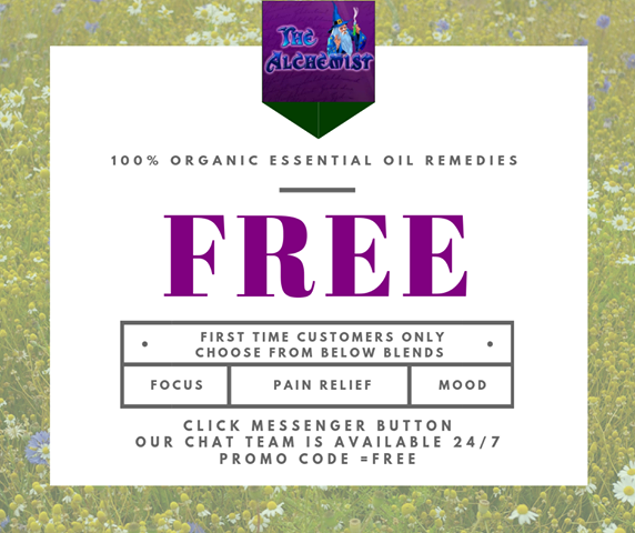 FREE Organic Essential Oil Sample