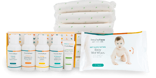 Free Baby Diapers & Wipes Trial Kit + Shipping