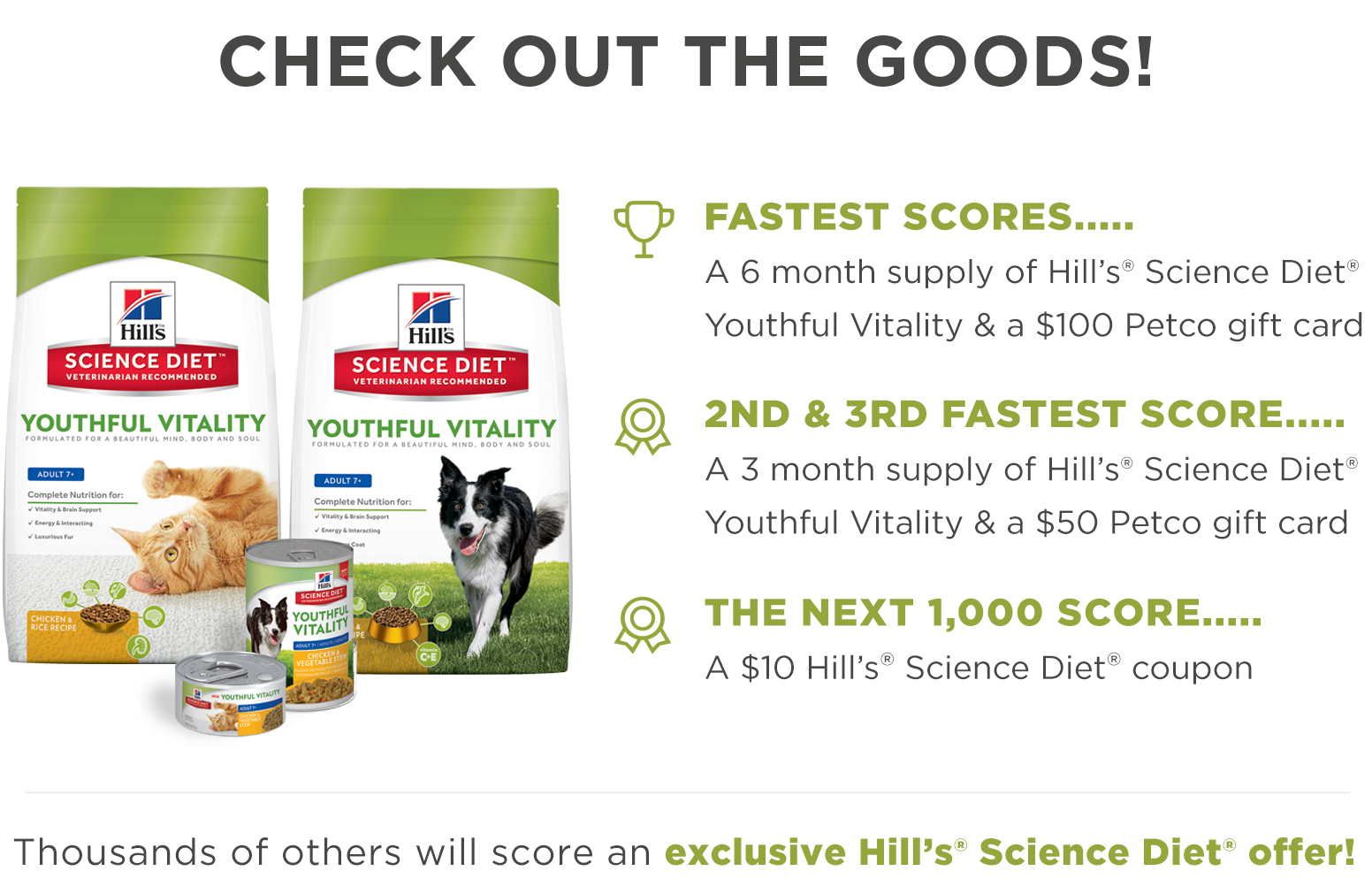 FREE Hill's Science Diet Quikly