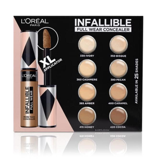 FREE L'Oreal Infallible Concealer Sample Card