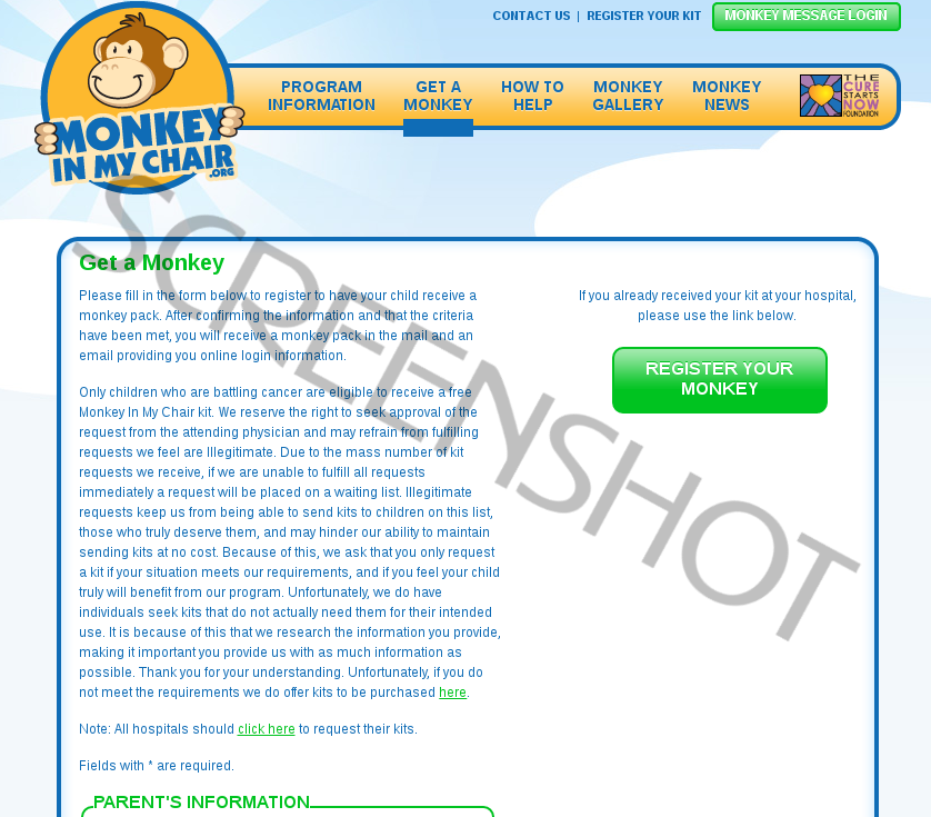 Offer Request Page