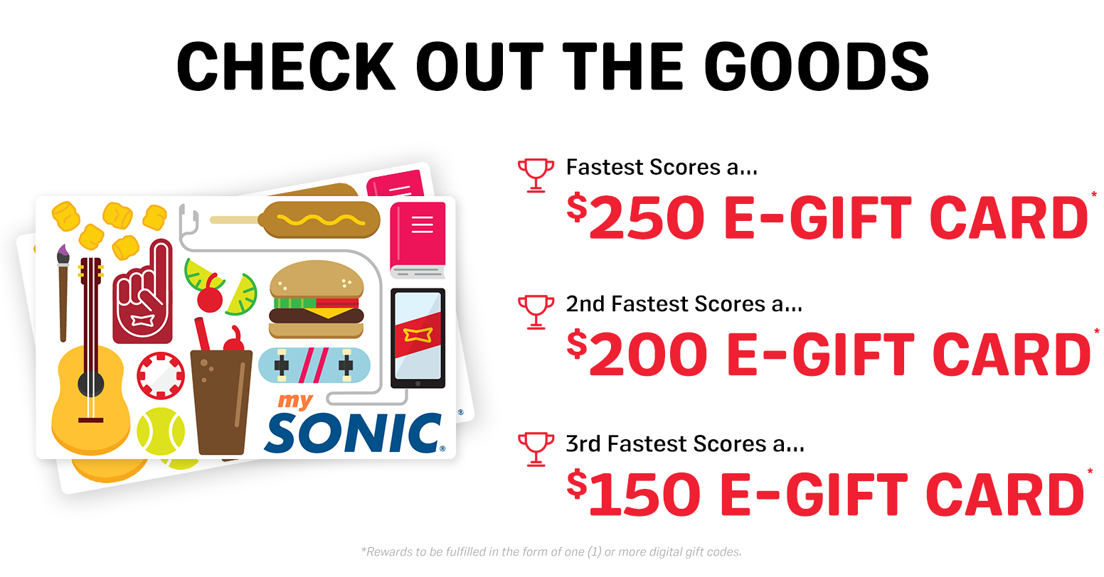 MySONIC Quikly Giveaway