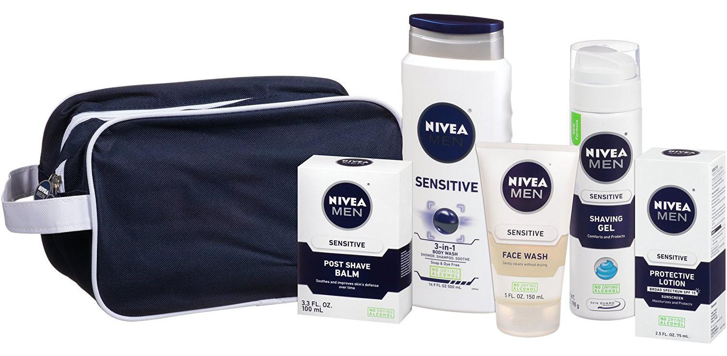 Nivea Men Sensitive 5pc Gift Set $12.50