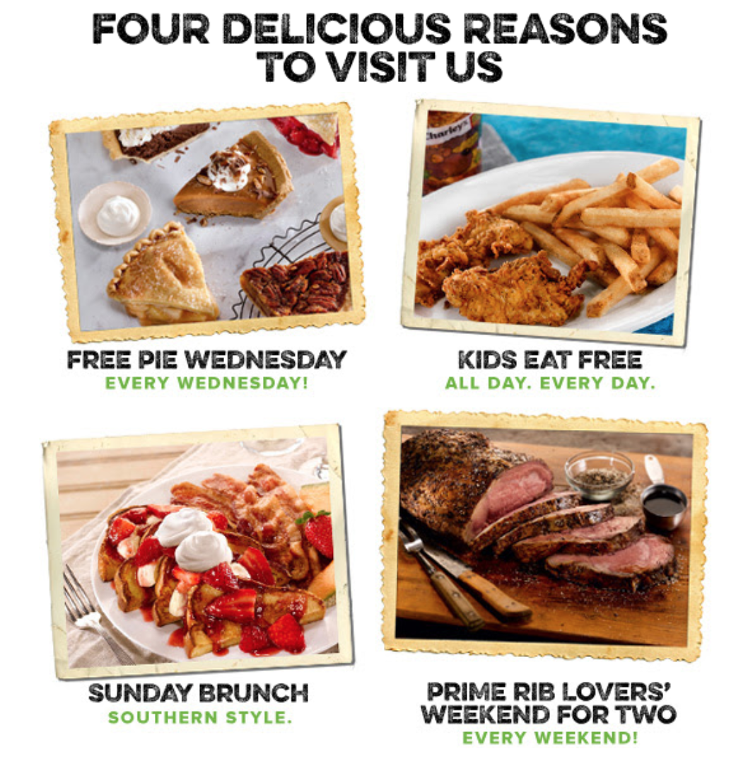 O'Charley's Deals