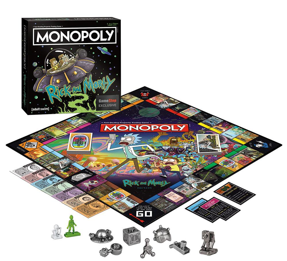 Monopoly: Rick and Morty Edition $19.99