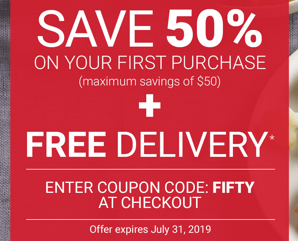 50% Off ANY Order