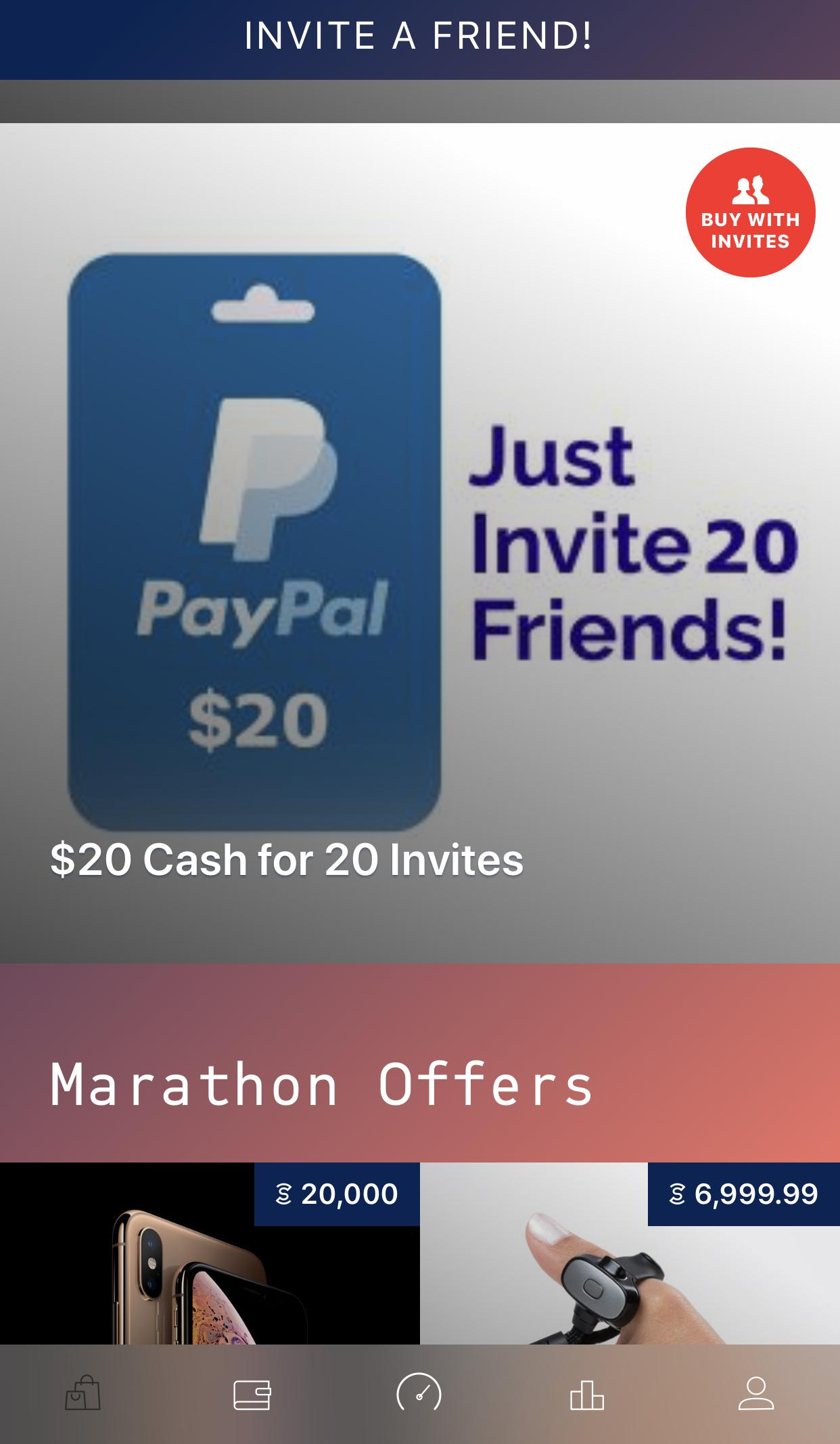 FREE $20 PayPal Cash Reward Offer