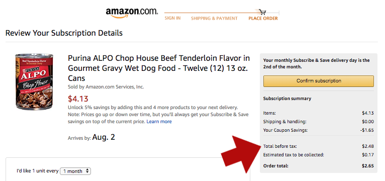 12 Cans of Purina ALPO Chop House Wet Dog Food ONLY $2.48 SHIPPED