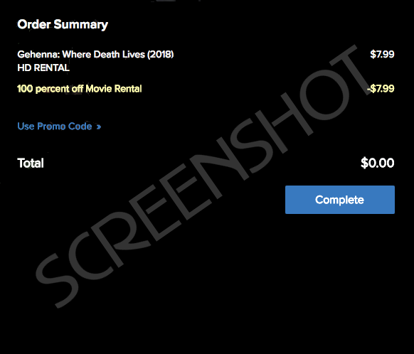 FREE Movie Rental (Up to $7.99 Value)