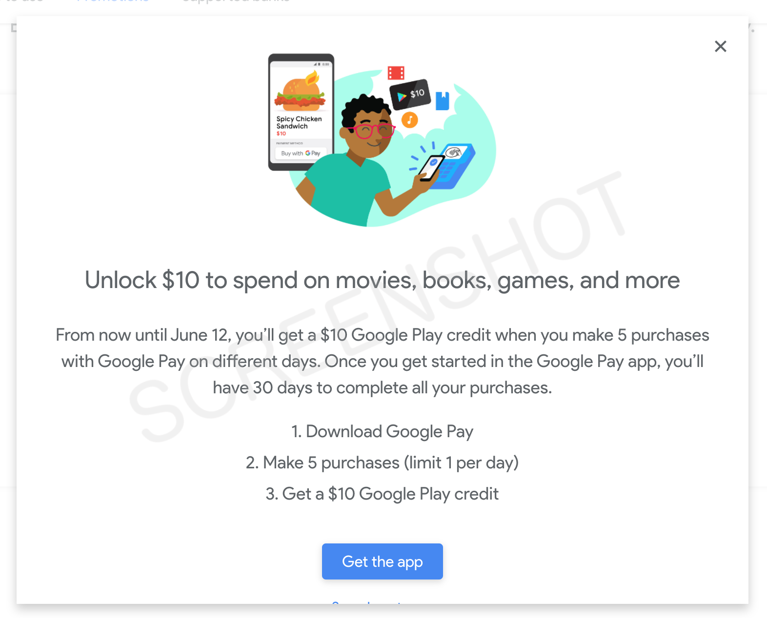 FREE $10 Google Play Credit Deal