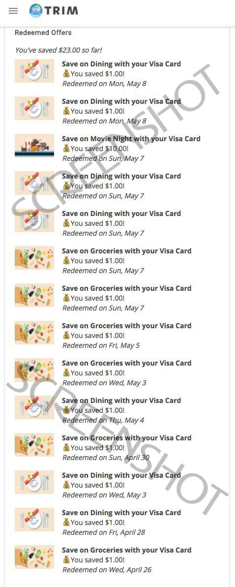 $40 in cashback coupons