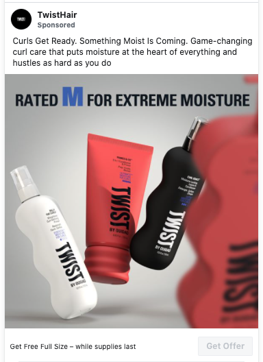 Possible FREE TwistHair by Ouidad Full-Size Product