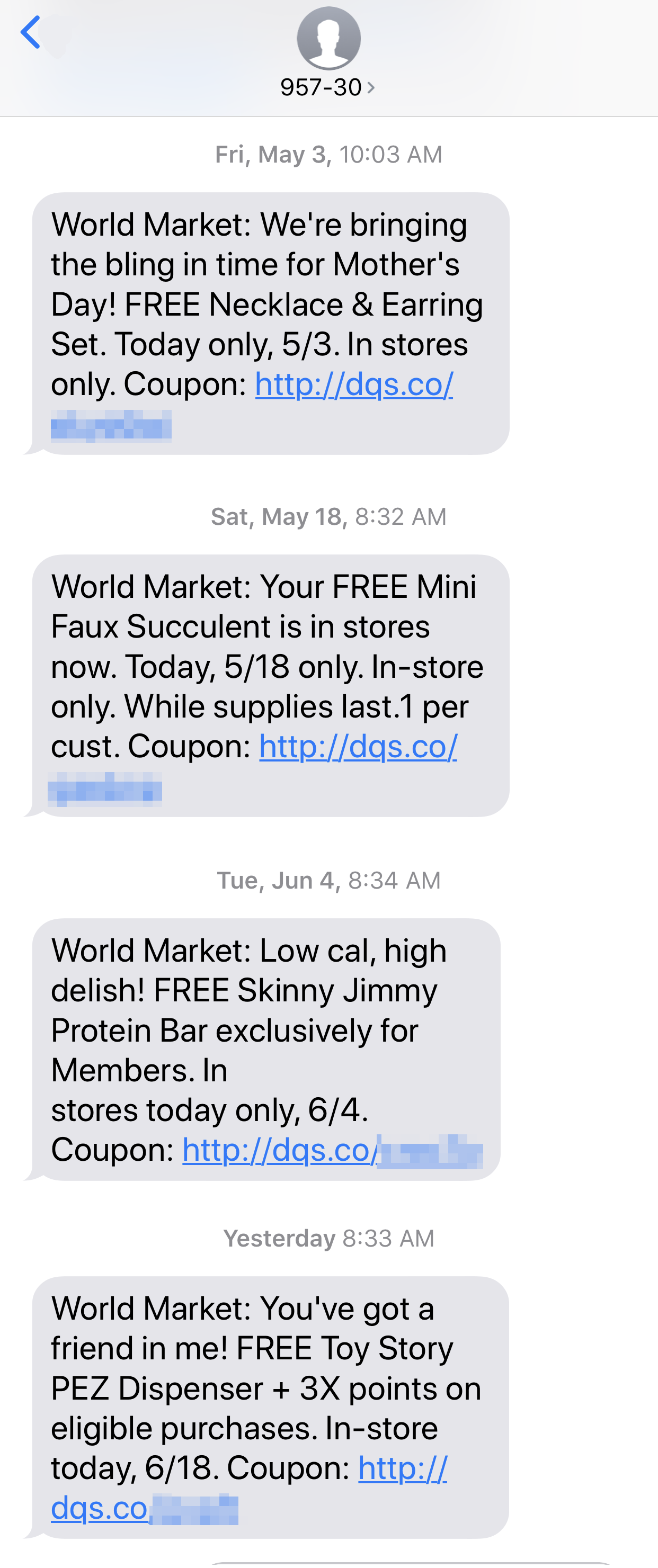 FREE Stuff from World Market Rewards