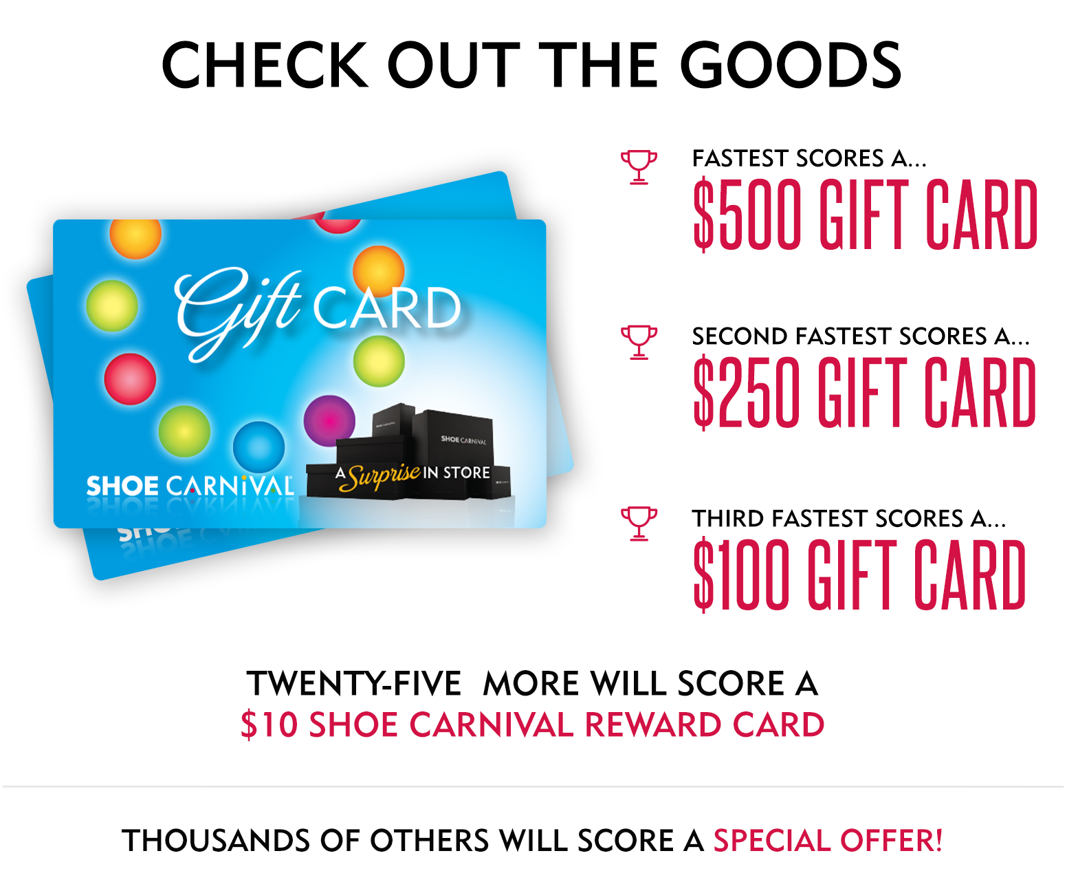 Shoe Carnival Gift Card Giveaway Quikly
