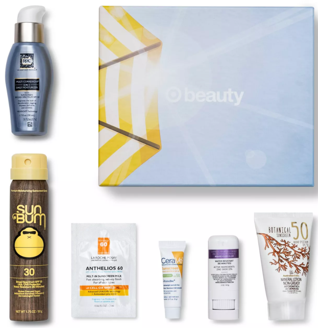 Sunscreen Queen Beauty Box