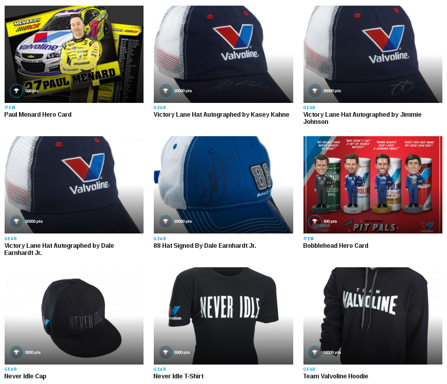 FREE Stuff from Team Valvoline