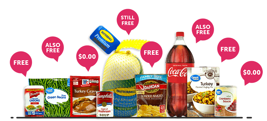 FREE Thanksgiving Dinner from Ibotta after Cash Back