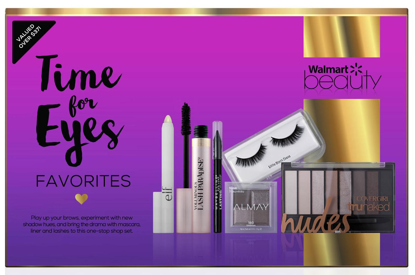 Walmart Beauty Favorites Box: Time For Eyes
