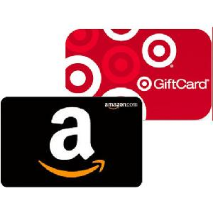 FREE $5 Amazon or Target Gift Card