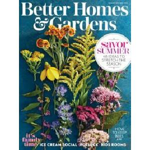 Free Better Homes Gardens Magazine 2 Year Print Subscription
