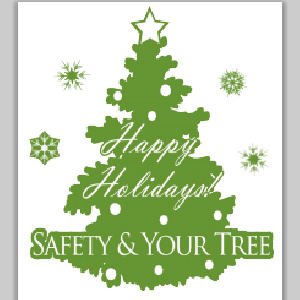 Free Tree Fire Safety Hang Tag