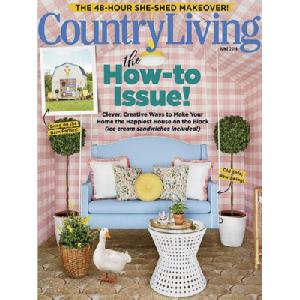 Free Country Living Magazine 1 Year Print Subscription