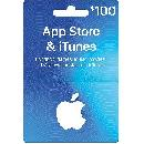 $100 Apple App Store & iTunes Gift Card ON