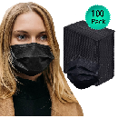 100-Pack Disposable Face Masks $10