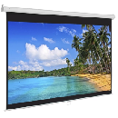 119'' Pull Down Projector Screen $39.99