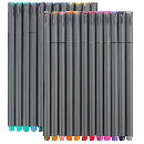 24-Pack TaoTree Color Pens Set  $7.47