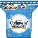 252 Cottonelle Flushable Wipes $4.75
