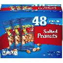 48-Pack Planters Salted Peanuts $7.11