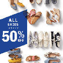 50% Off ALL Old Navy Shoes for the Family