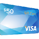 FREE $50 Visa eGift Card