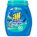 All Mighty Pacs Laundry Detergent $6.11