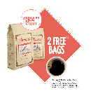 2 FREE Bags of Coffee (A $32 Value)