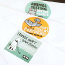 FREE supply of Animal Rights Stickers
