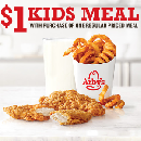 $1 Kids Meal at Arby's with Purchase