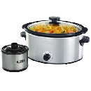 Bella 5-Qt. Slow Cooker With Dipper $17.99