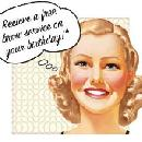 FREE Brow Arch Service on your Birthday