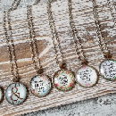 Bible Verse & Hymns Necklaces $3.99